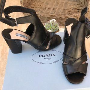 NIB Prada sandals shoes